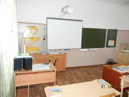 кабинет нач.класс